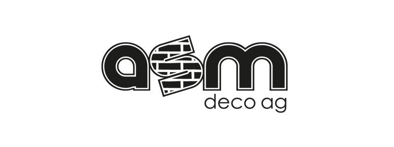Logodesign für die ASM Deco AG durch Egli-Werbung
