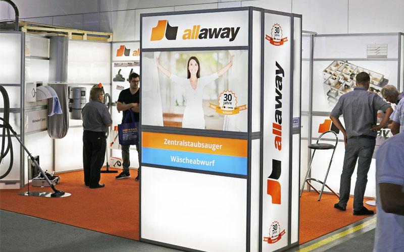 Allaway AG | Messe Bauen Modernisieren