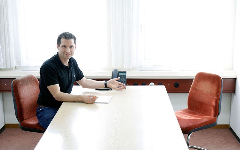 Fotoshooting für die Dataform AG durch Egli-Werbung