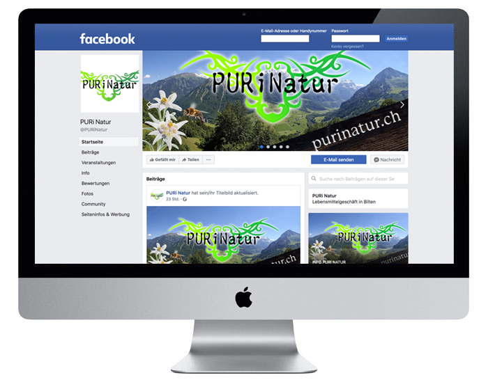 Social Media | Facebook | PURi Natur