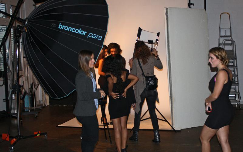 Fotoshooting mit Caronneschmuck für den Webshop