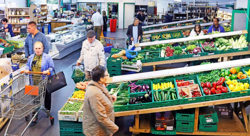 Fotoshooting für die Früchte Rychard AG durch Egli-Werbung